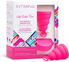 Intimina Lily Cup One – The Collapsible Teen Menstrual Cup for Beginners