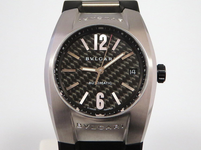 ブルガリ BVLGARI エルゴン EG35BSVD ブラック/グレー文字盤 メンズ 腕時計 【中古】 B0784N8727