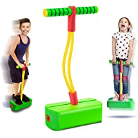 SWIPPLY Jumping Toys Foam Pogo Jumper for Kids Fun and Safe Pogo Stick for Toddlers, Durable Indoor and Outdoor Foam…
