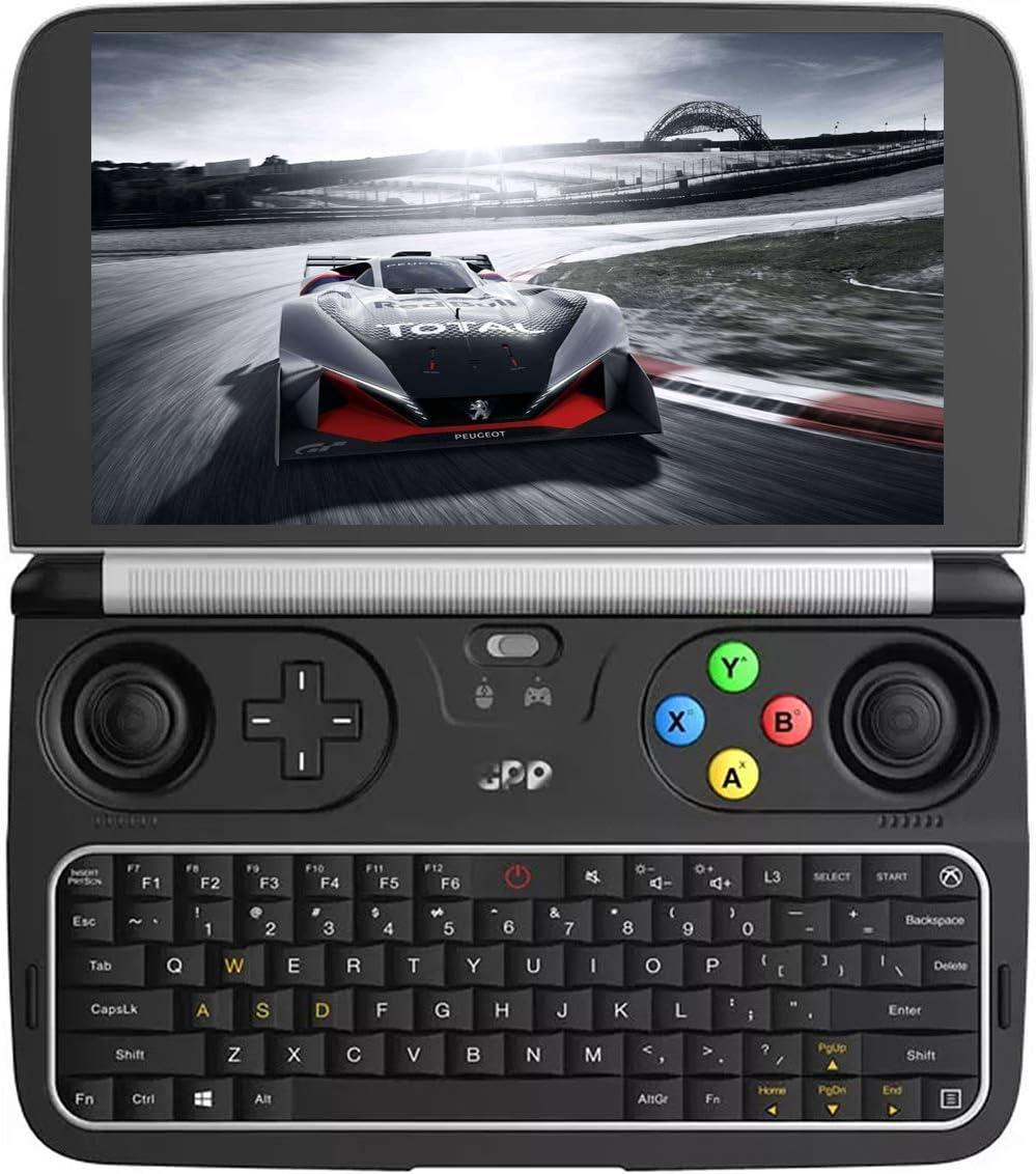 Amazon Com 256gb M 2 Ssd Version Gpd Win 2 Mini Handheld Windows 10 Video Game Console Gameplayer 6 Laptop Umpc Tablet Pc Cpu M3 8100y Lntel Hd Graphics 615 8gb Ram 256gb Storage Computers