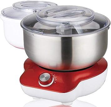 Amazon De Dms Kuchenmaschine 1400 Watt 6 Stufen 2x 5 Liter