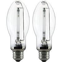 Sunlite 03620-SU LU150/MED 150 Watt HPS ED17 High Pressure Sodium Light Bulb, Medium Base, Clear (150 Watts 2 Pack)