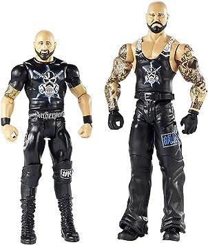 WWE Pack de 2 figuras básicas con accesorios, Konnor y Viktor (Mattel FMF70): Amazon.es: Juguetes y juegos