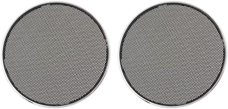 Kesoto 2x Φ 22cm Auto Audio Lautsprecher Schutzgitter Elektronik
