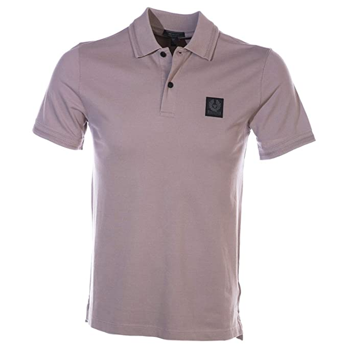 2efd4d31cba3 Belstaff Stannett Polo Shirt in Dusty Orchid M  Amazon.co.uk  Clothing