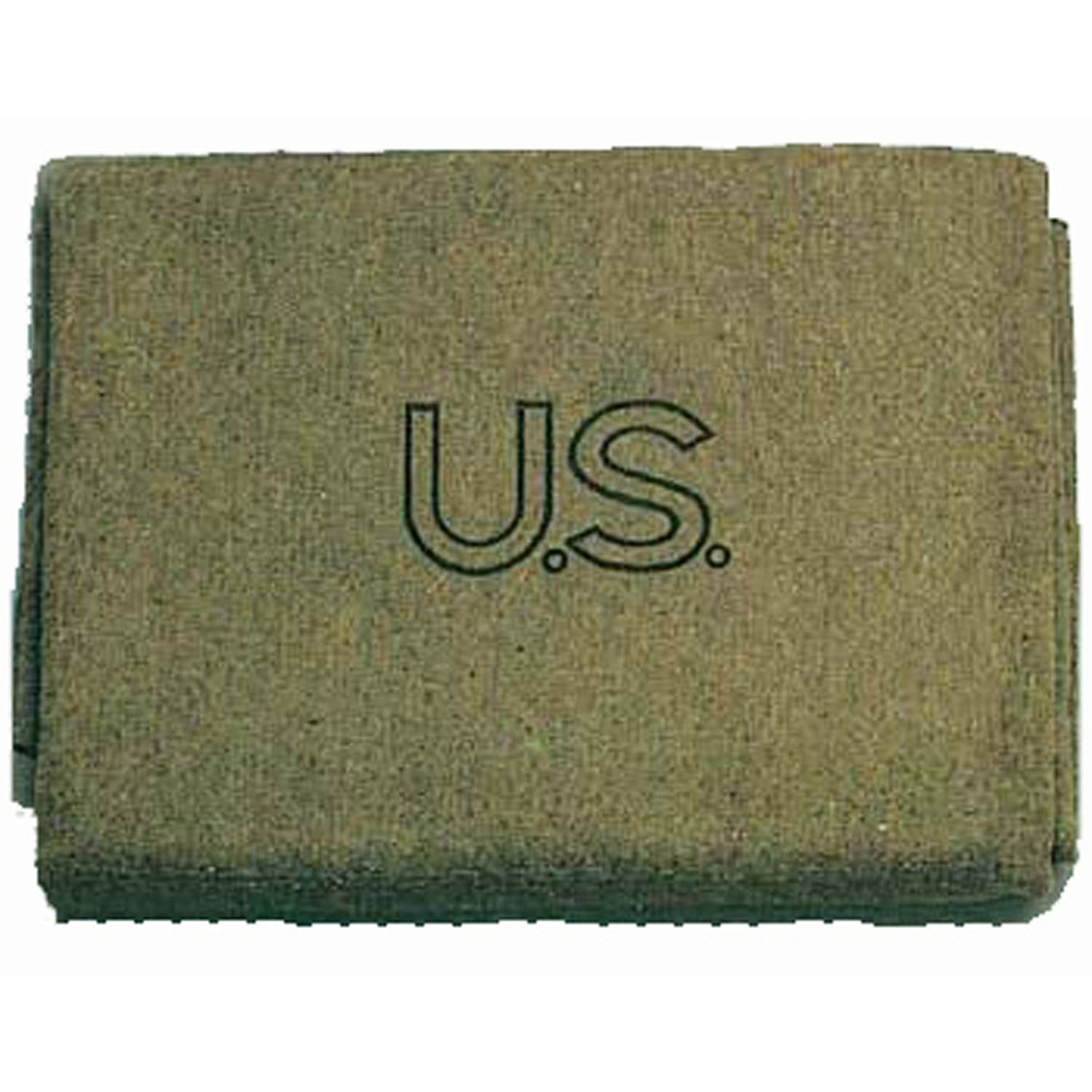 Military Outdoor Clothing U.S. Style Wool 3-Pound Military Blanket 9023