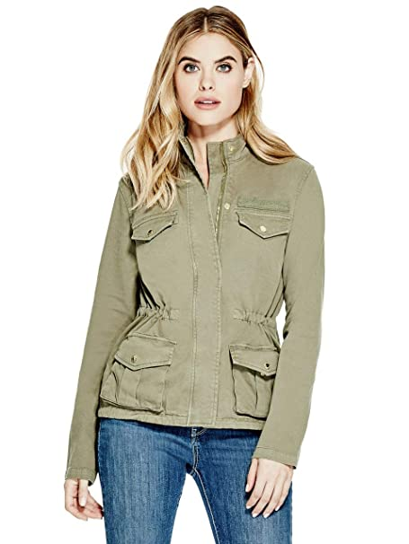 GUESS Factory Womens Belle Anorak Jacket