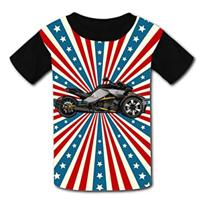 3D Motor-Bike-Can-Am Design Sleeve T-Shirt Fashion Styles Tee Shirt