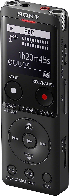Sony Icd Ux570b Digital Voice Recorder Oled Display 4gb Elektronik
