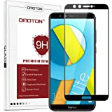 OMOTON Compatible with Honor 9 Lite Screen Protector, Full Coverage Tempered Glass Screen Protector with [3D Round Edge] [9H Hardness] [Crystal Clear] [Scratch Resist] [No-Bubble Installation]