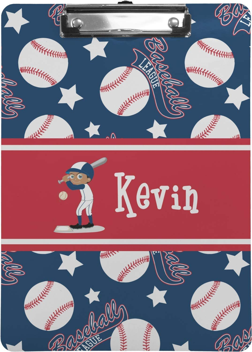 Baseball Clipboard Personalized Legal Size