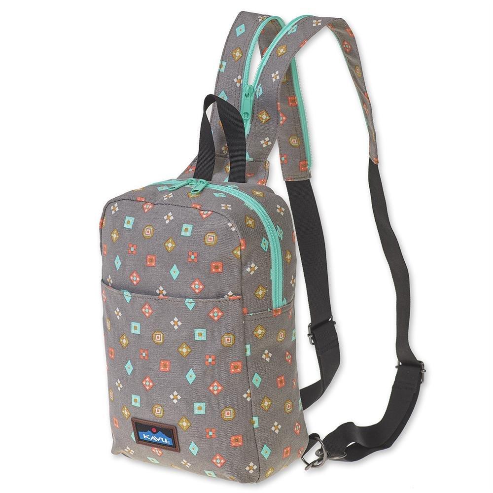 KAVU Forlynne Convertible Backpack Sling For Women Crossbody Shoulder Bag - Fun Foulard