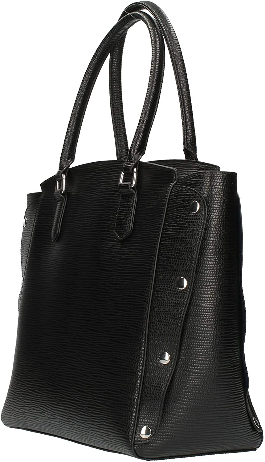 Trussardi Jeans Borsa a mano Medium T-Easy Star Black