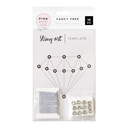 Amazon american crafts paige evans fancy free template string american crafts paige evans fancy free template string art diamond 14 piece maxwellsz