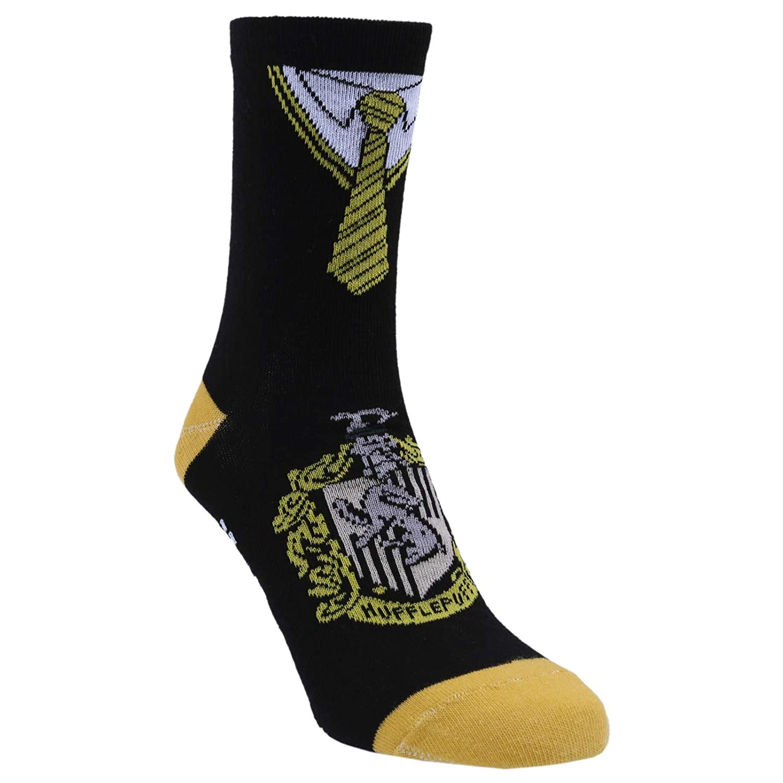 4 x Black Ankle Socks For Boys Hogwarts Houses Crests Design HARRY POTTER Age 3-6//7-10yrs Slytherin Hufflepuff Ravenclaw Griffindor Primark