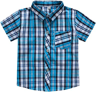 ZHMEI Camiseta Negra   Toddler Baby Kids Boys Stripe Plaid Pocket T-Shirt Tops Ropa Casual 18 Meses - 7 años: Amazon.es: Ropa y accesorios