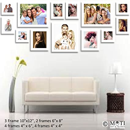Buy 13 Pc White Photo Frame Wall Collage, 3Pc 10\