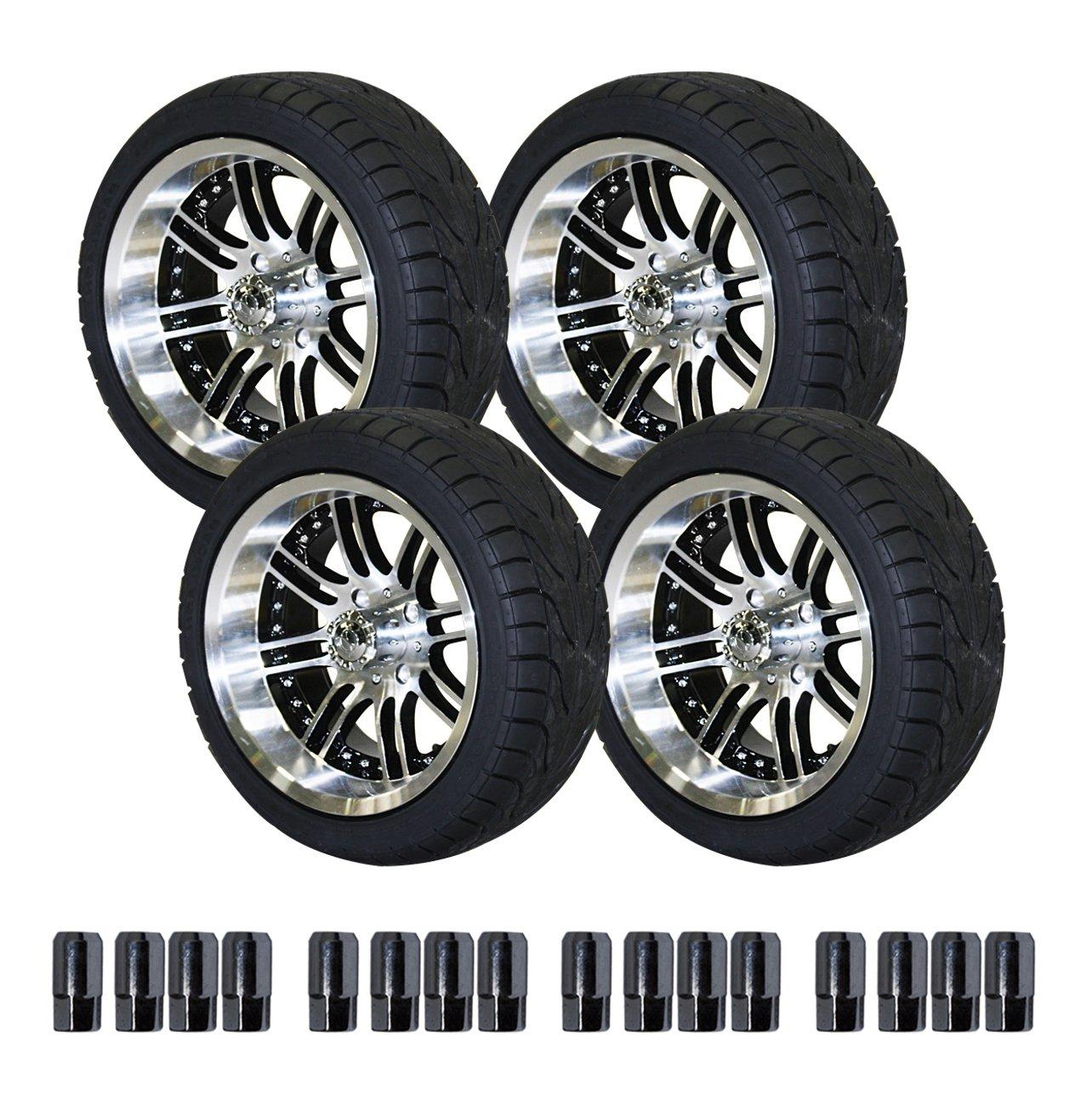 14 inch tires u003eu003e amazon com ezgo 750396pkg backlash tires with 14 inch black and