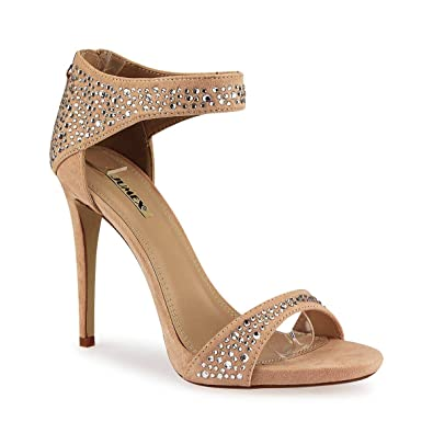 e30b280ddaa1 Women s sandal   landscape and heel strap with Small studded diamantes  Crystals the zip with cord