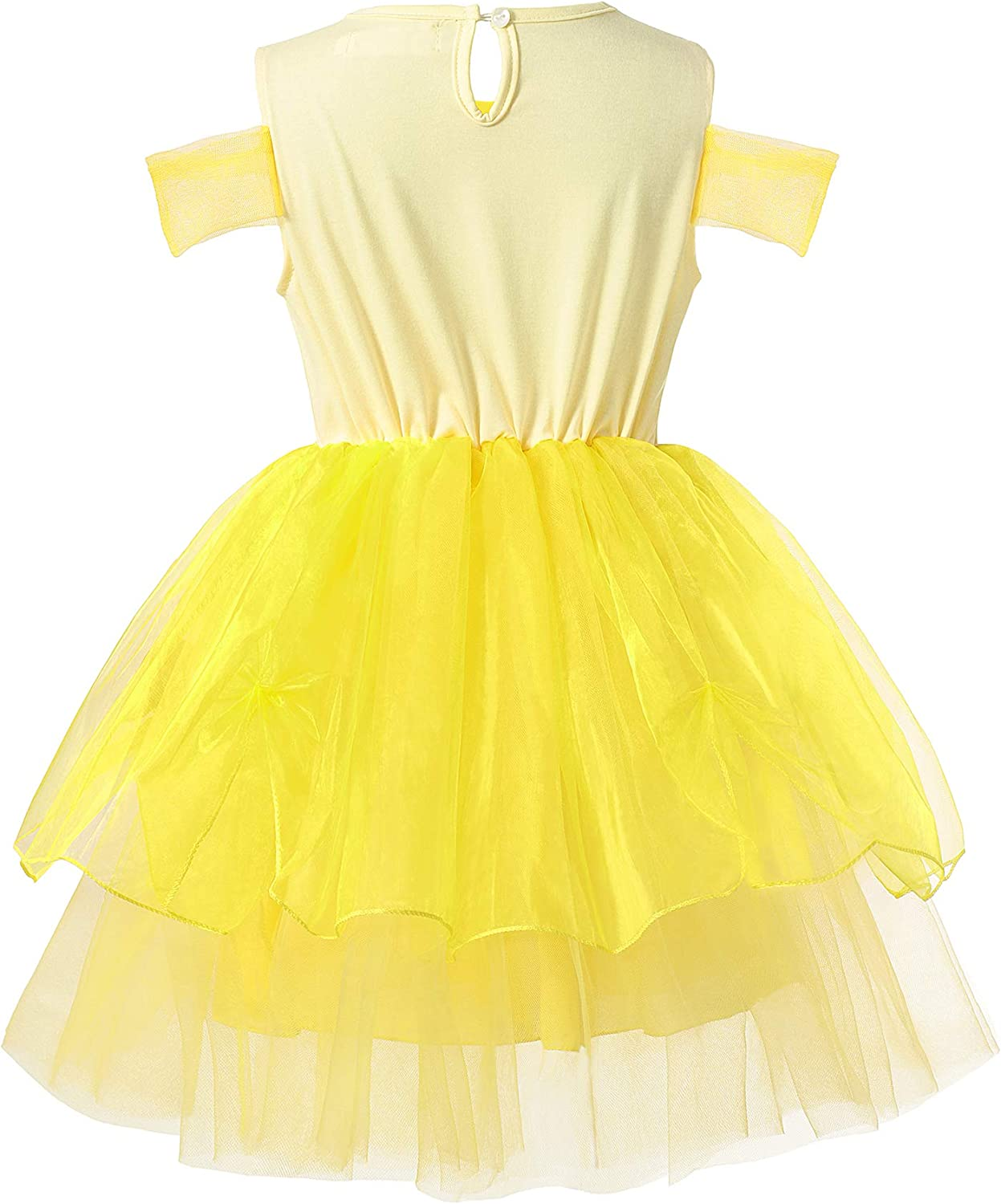 Muababy Baby Girl little Princess Party Tutu Dress with Accessories