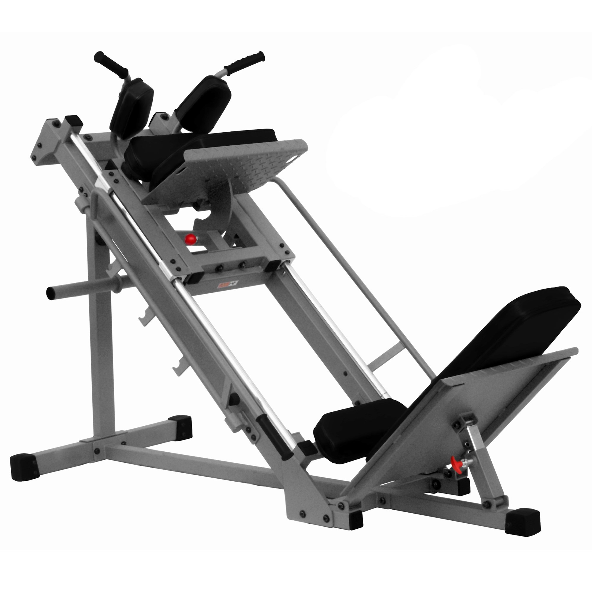 "XMark Seated Leg Press and Hack Squat With 1000 lb. Wgt Capacity - Built Tough 11 gauge 2'' x 3'' and 2"" x 2"" steel mainframe"