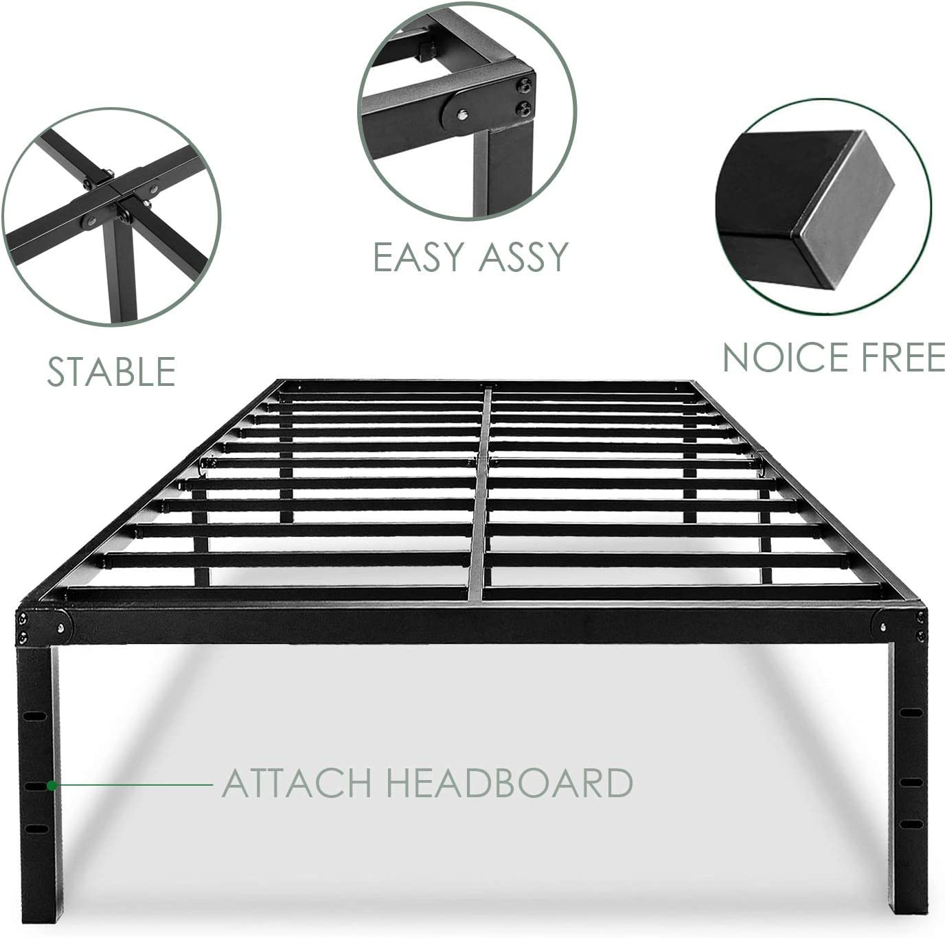 Ess Vertical Wall Bed Building Metal Frames Single Size Mattress Home Bedroom