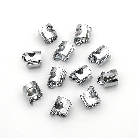 KUNPENG - 10 piezas # 543938 Protector de hilo de aguja ajuste para la máquina de