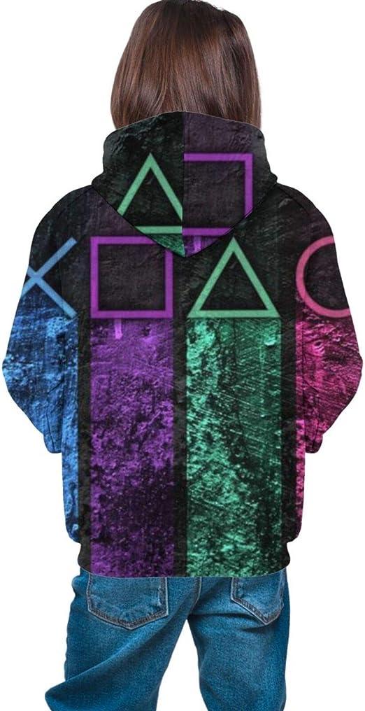 Sudaderas unisex con capucha con impresión 3d Playstation ...