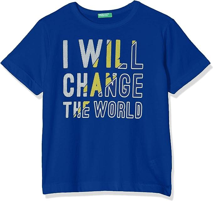 United Colors of Benetton Athletic B1 Camiseta de Tirantes, Azul (Bluette 23g), 120 (Talla del Fabricante: Small) para Niños: Amazon.es: Ropa y accesorios