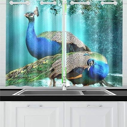 . Amazon com  ENEVOTX Beautiful Background Peacock Pair Hd Wallpaper