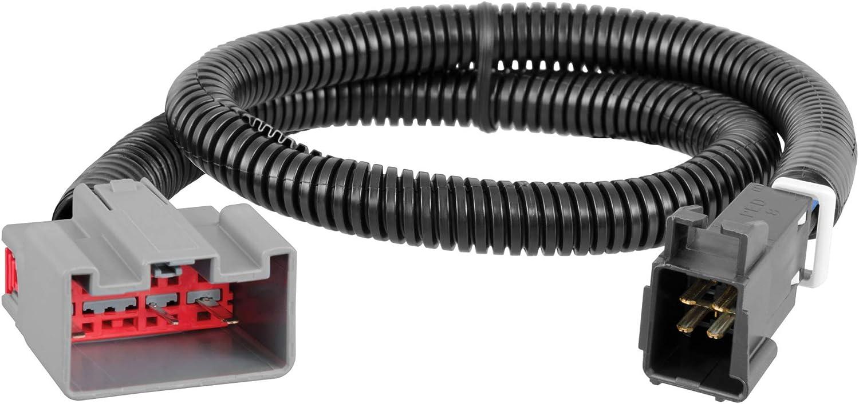 Amazon.com: CURT 51437 Quick Plug Electric Trailer Brake Controller Wiring  Harness, Select Ford F150, F250, F350, F450, F550 Super Duty, Lincoln MKT,  Navigator: Automotive   Ford F550 Brake Controller Wiring Diagram      Amazon.com