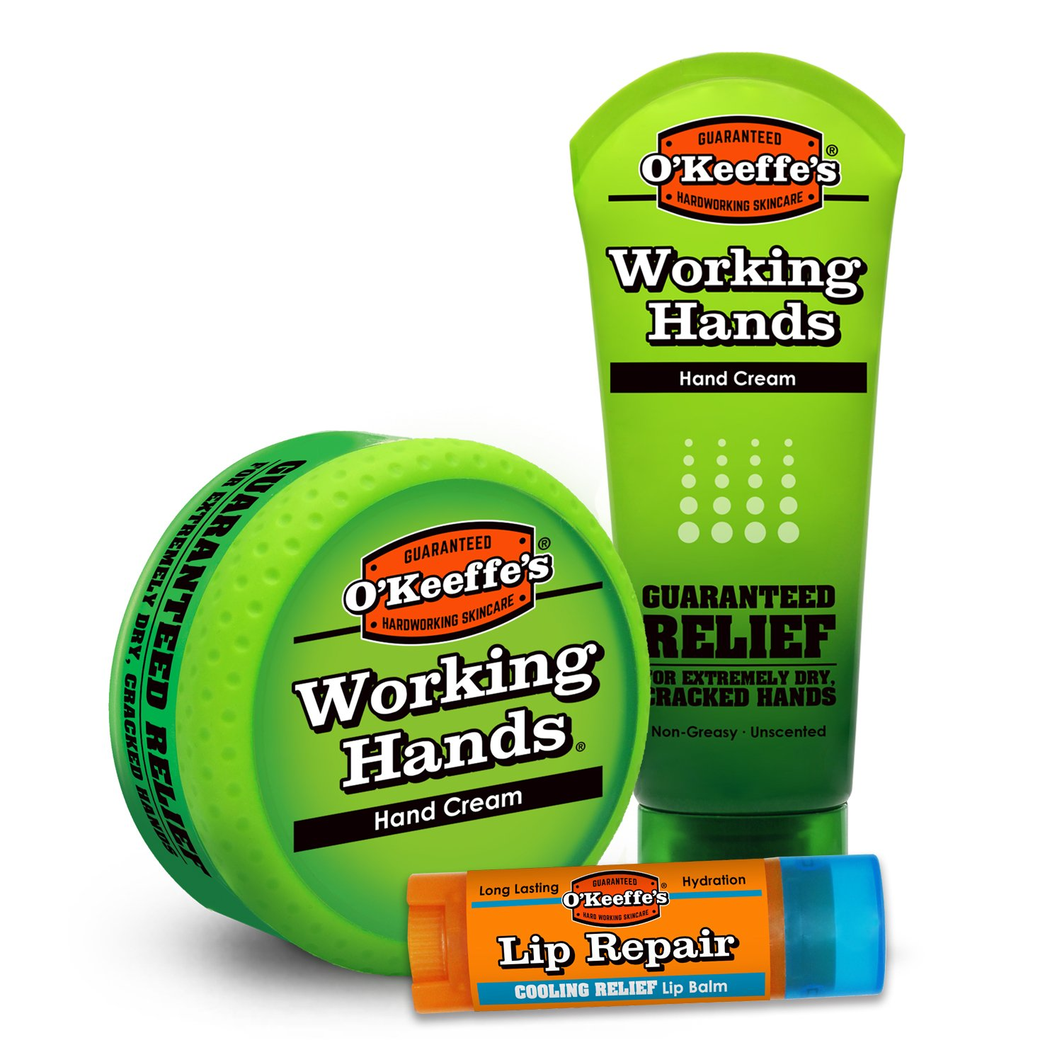 O'Keeffe's Working Hands & Lip Repair Variety Pack by O'Keeffe's