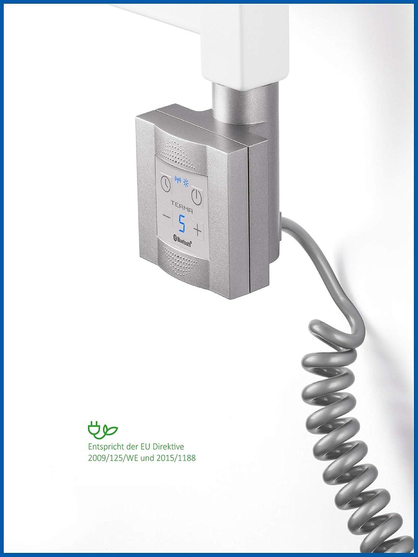 KTX 4 Blue Heizpatrone f/ür Badheizk/örper mit App Steuerung 300 Watt, Schwarz