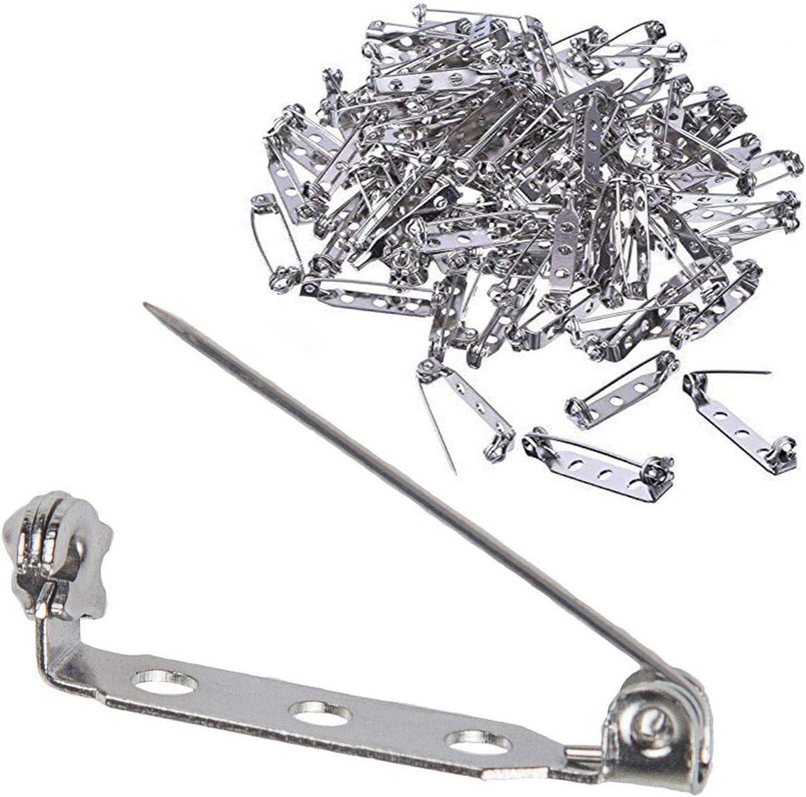 10pcs Gold Safety Pins 64mm 75mm Kilt Pins Broochs Larger Safety Pins Brooch Pin metal safety pins Bar Pins