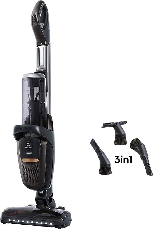 Electrolux Pure F9 Sin bolsa Gris, Metálico 0,7 L - Aspiradora escoba (Sin bolsa, Gris, Metálico, 0,7 L, Secar, 82 dB, Batería): Amazon.es: Hogar
