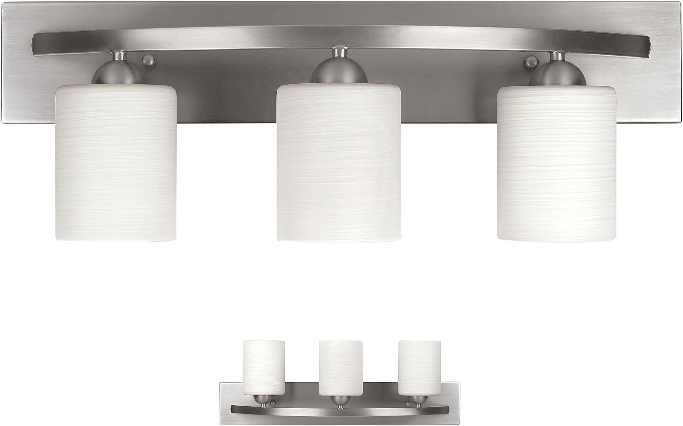 vanity lighting fixtures amazon com kitchen bath fixtures rh amazon com 8 Bulb Bathroom Light Fixture 48 Inch Bathroom Light Fixture