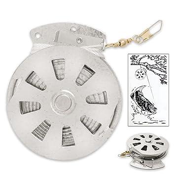 Sporting Goods Flat Trigger Model 4 Pack Mechanical Fisher's Yo Yo Fishing Reels Fishing