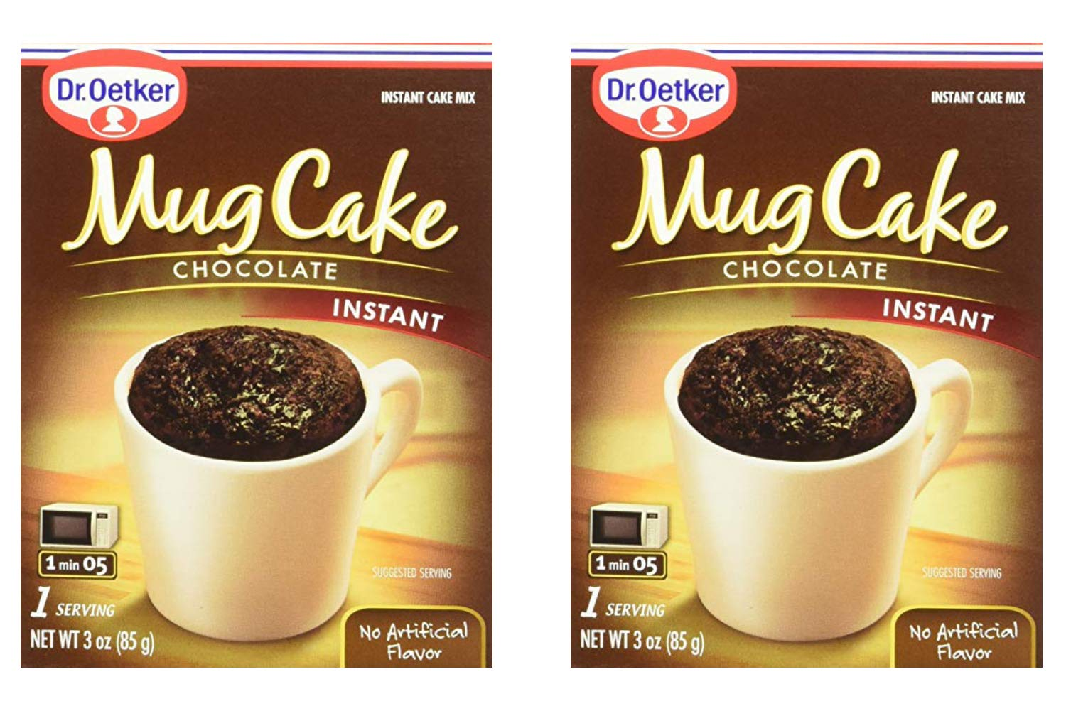 Dr. Oetker Mug Cake Chocolate Instant Cake Mix 3-Ounce (4 Count) (2 Pack) by Dr. Oetker (Image #1)