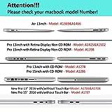iLeadon MacBook Air 13 inch Protective Hard Case