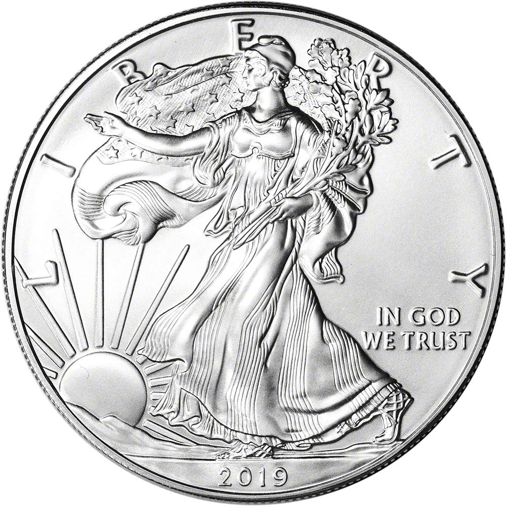 2019 American Eagle Silver Dollar Brilliant Uncirculated-FREE SHIPPING