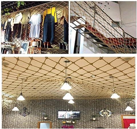 Balcón red de protección de escalera tienda de ropa de colgar la ropa neta hotel de decoración de red, disco bar KTV aislamiento límite máximo neto decoración neta decoración de interiores neta: