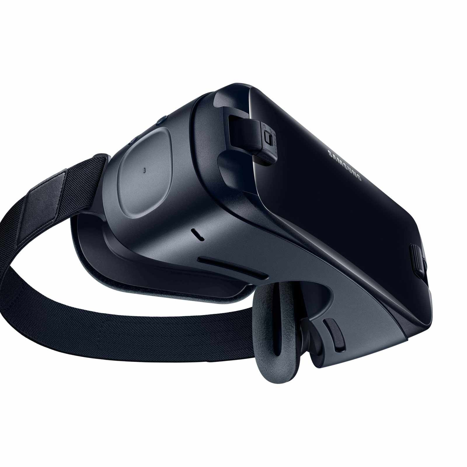 Samsung Gear VR (2017 Edition) with Controller Virtual Reality Headset SM-R325 for Galaxy S8, S8+, S7, S7 edge, Note5, Note 8, S6 edge+, S6, S6 edge (International Version, No Warranty) by Samsung (Image #5)
