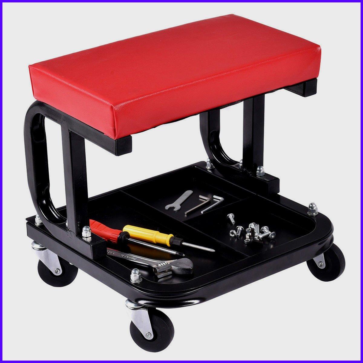 Mechanics Roller Seats Rolling Creeper Seat Mechanic Automotive Accessory Stool Chair Repair Tools Tray Shop Auto Car Garage - House Deals