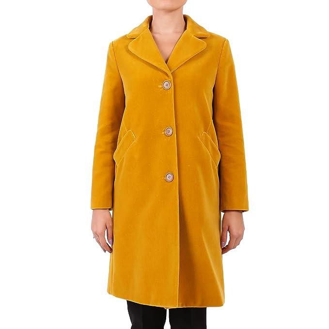 Aspesi Cappotto Donna 0738F78601154 Cotone Giallo  Amazon.it  Abbigliamento 1d631b8b12da