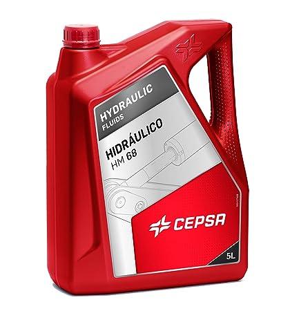 CEPSA Aceite Mineral para Sistemas hidráulicos 640413072, 5 litros ...