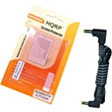HQRP DC Cable Cord Compatible with Panasonic PV-GS69 PV-GS80 PV-GS81 PV-GS83 PV-GS85 PV-GS90PC Camcorder Plus LCD Screen Protector