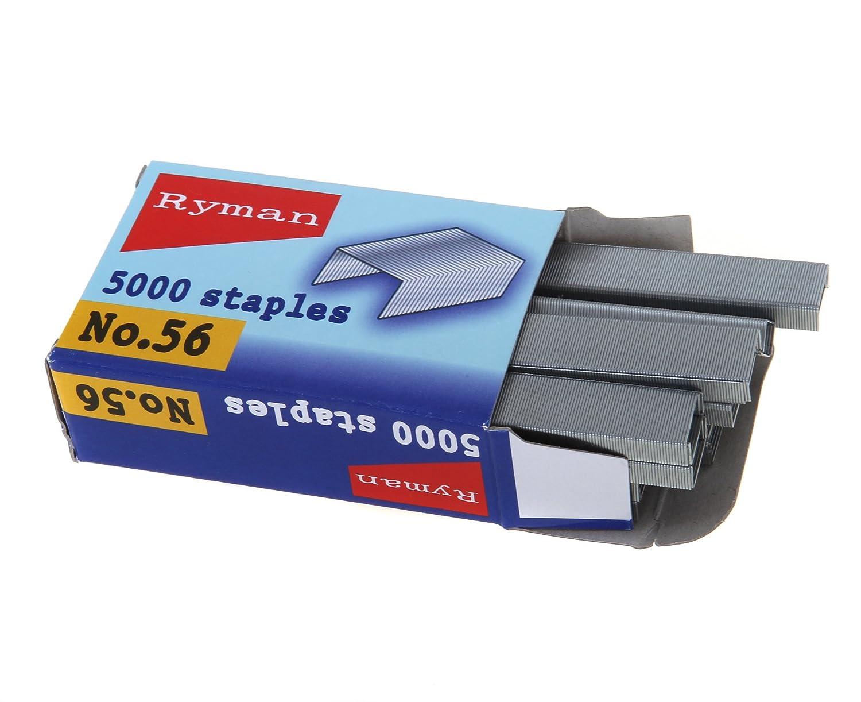 12.7/mm X 6/mm Ryman 5000/Agrafes Taille N /° 56/