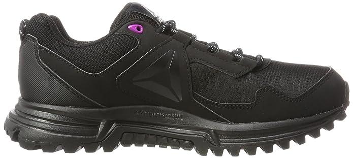 Reebok Sawcut 5.0 GTX, Zapatillas de Senderismo para Mujer, Negro (Black/Vicious Violet/Cloud Grey 000), 38 EU