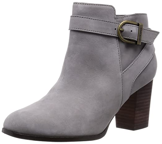 Cole Haan Womens Cassidy Strap Bootie, Ironstone Nubuck, Size 7.0