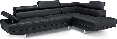 Amazon Com Homelegance 9701blk 2 Dwyer Love Seat Black